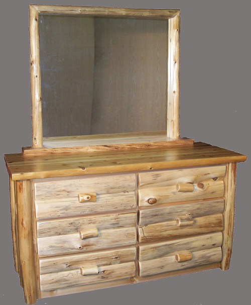 Hand Peeled 6 Drawer Dresser - CHP5014