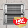 Smart Vent 1540-521 Stainless Steel Dual Function Double Stacker Flood Vent  FREE SHIPPING