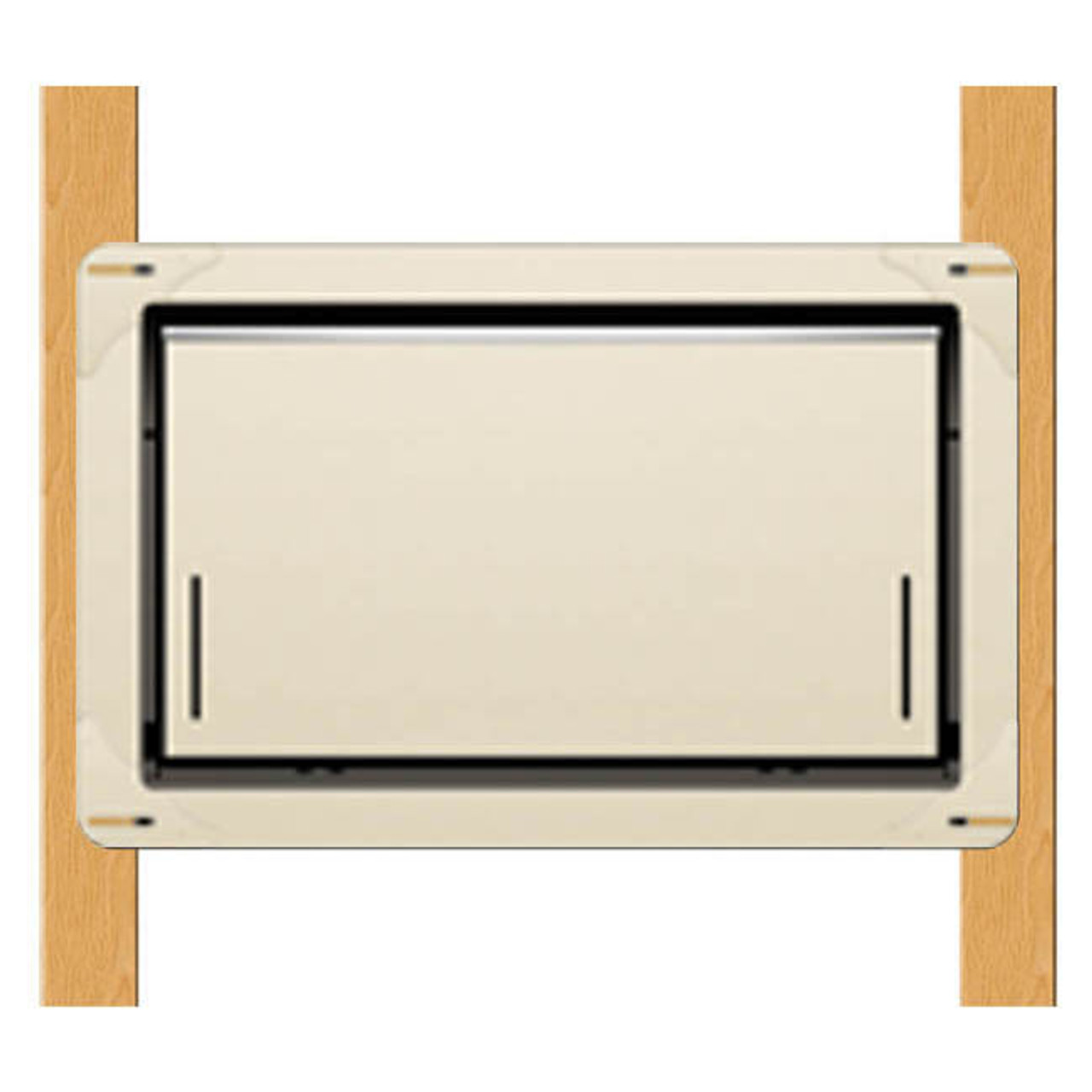 Smart Vent 1540-570 Wood Wall Wheat Flood Vent