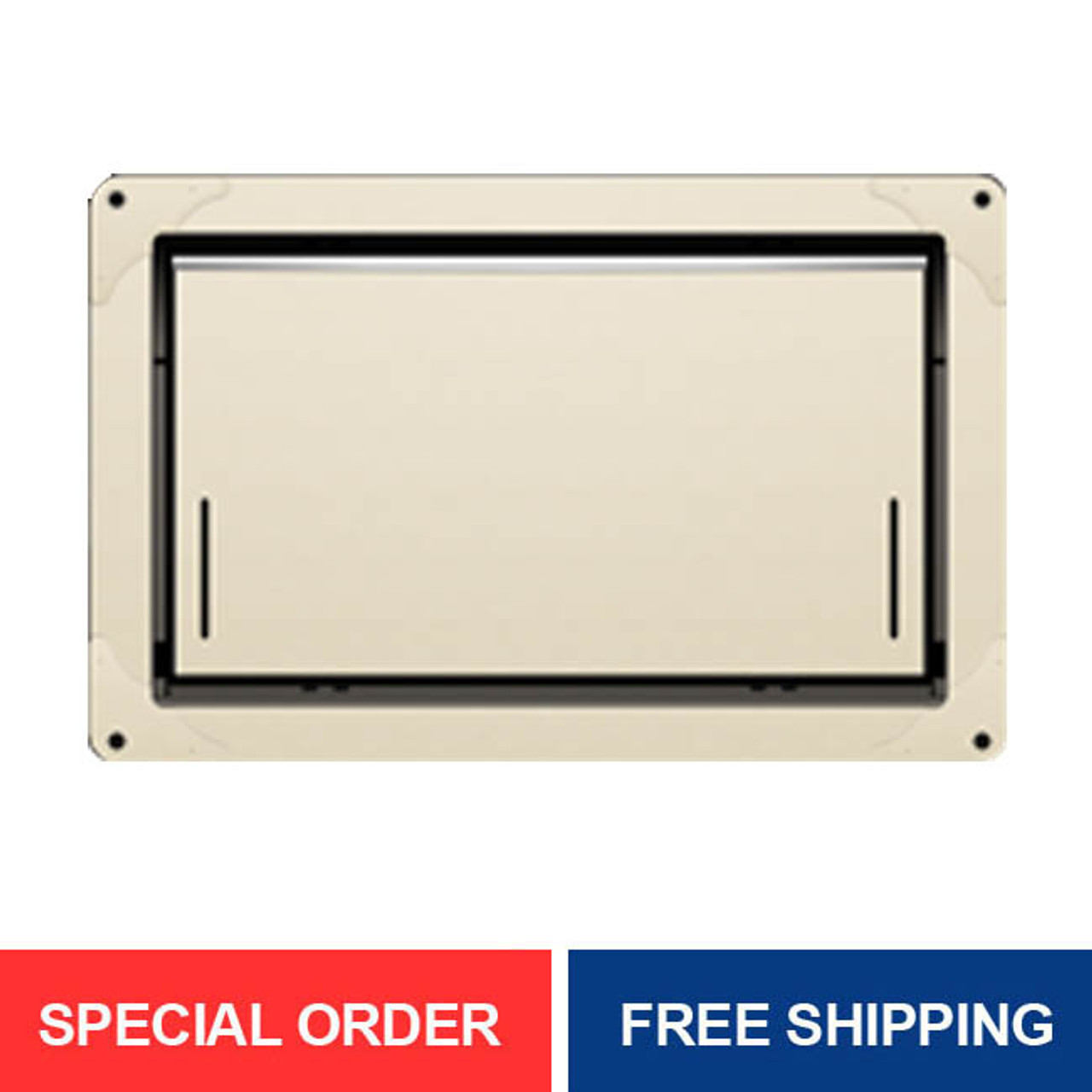 Smart Vent 1540-574 Wheat Overhead Garage Door Flood Vent