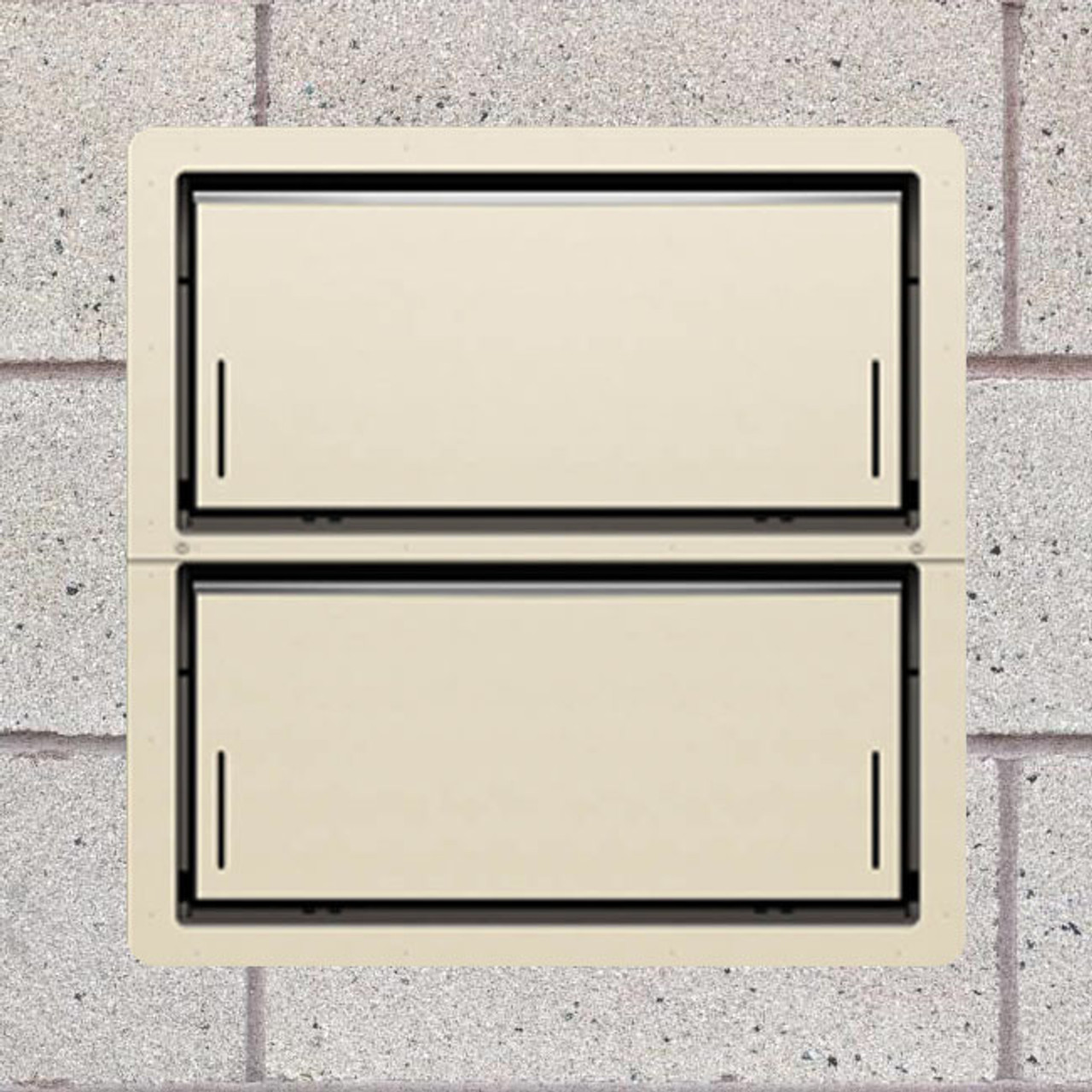 Smart Vent 1540-521 Wheat Insulated Double Stacker Flood Vent