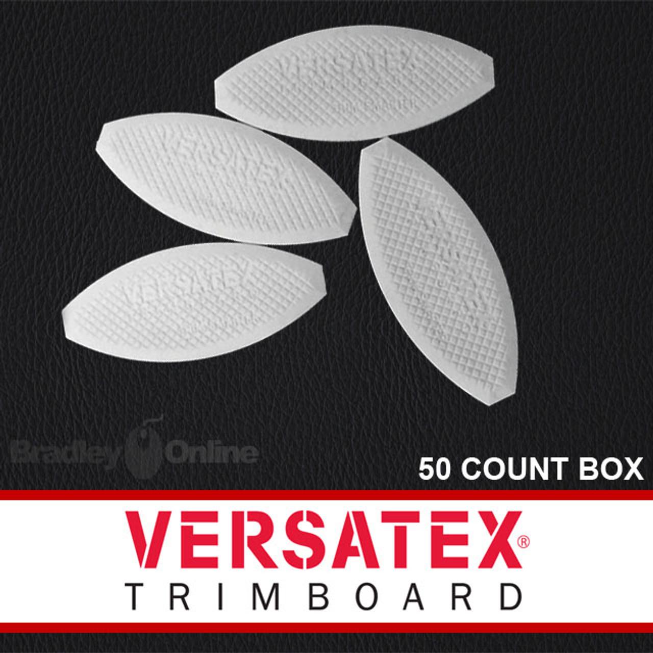 50 Count Versatex PVC Joint Biscuits