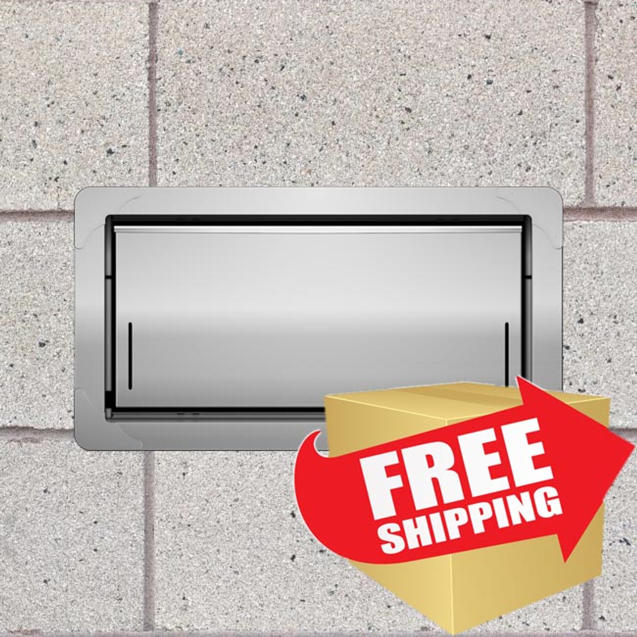 Smart Vent 1540-520 Insulated Flood Vent, Stainless Steel - IN-STOCK, SHIPS FREE