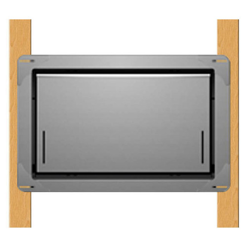 Smart Vent 1540-570 Wood Wall Gray Flood Vent