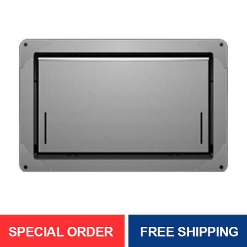 Smart Vent 1540-574 Gray Overhead Garage Door Flood Vent