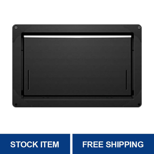Smart Vent  1540-574 Black Insulated Overhead Garage Door Flood Vent