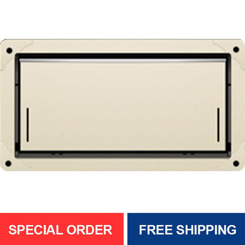 Smart Vent 1540-524 Wheat Overhead Garage Door Flood Vent