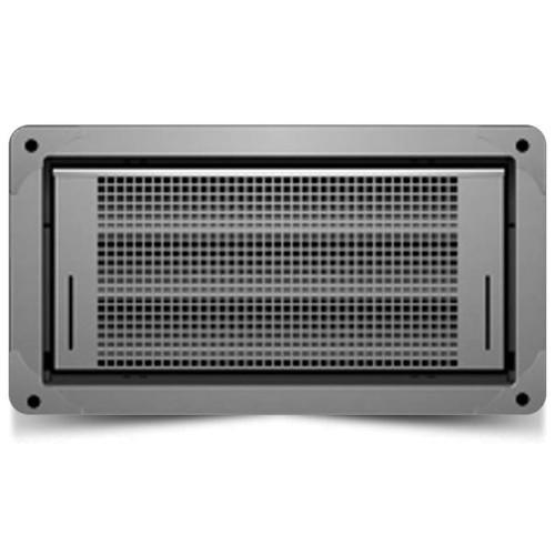 Smart Vent 1540-514 Dual Function Gray Garage Door Flood Vent