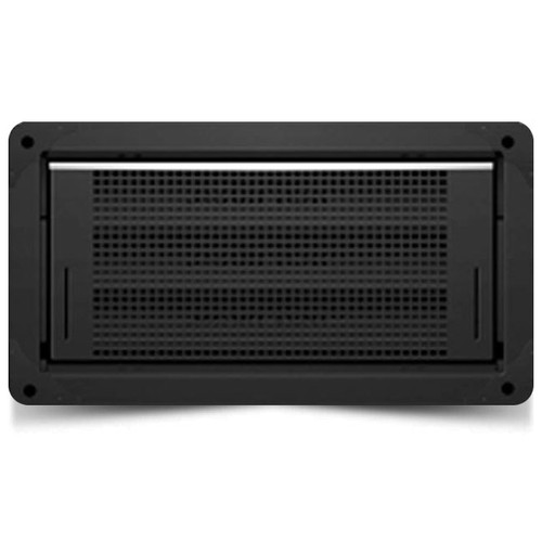Smart Vent 1540-514 Garage Door Black Flood Vent