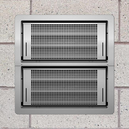 Smart Vent 1540-521 Stainless Steel Dual Function Double Stacker Flood Vent
