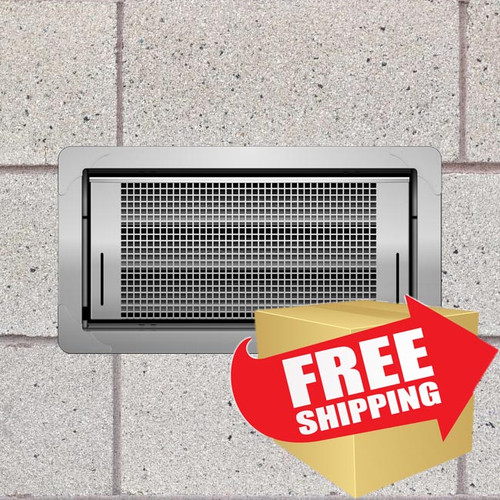 Smart Vent 1540-510 Dual Function Stainless Steel Flood Vent FREE SHIPPING