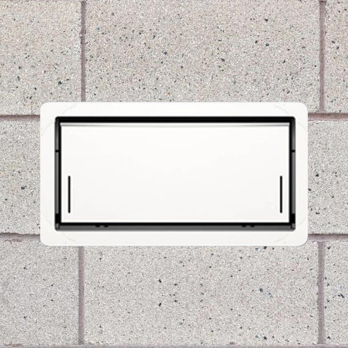 Smart Vent 1540-520 Insulated White Flood Vent