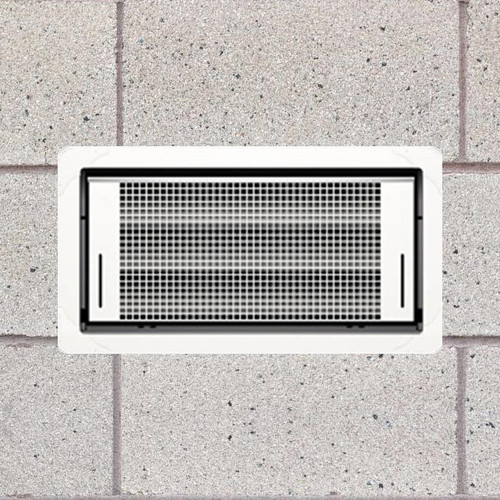 Smart Vent 1540-510 Dual Function White Flood Vent