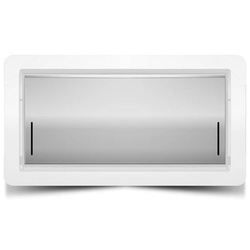 Smart Vent 1540-0039 Dual Function Replacement Door Stainless Steel
