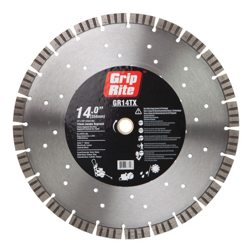 Grip-Rite GR14TX Diamond Saw Blade