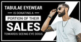 Tabulae Eyewear is Donating a Portion of Their Sales Towards Seeing Eye Dogs