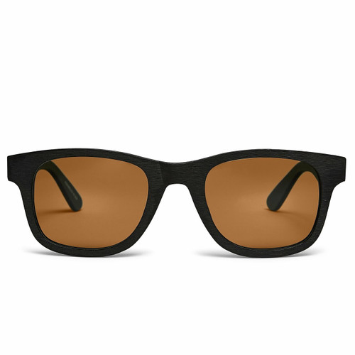 Picture of Tabulae Eyewear TRITON BLACK with custom sunglass frame and lens