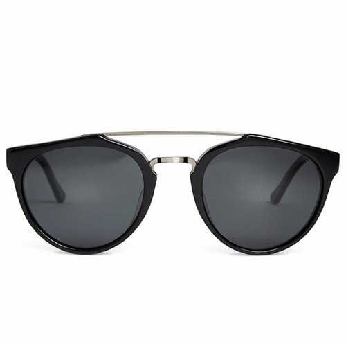 Picture of Tabulae Eyewear HERACLES SHINY BLACK with custom sunglass frame and lens