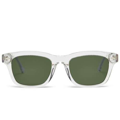 Picture of Tabulae Eyewear LOKI TRANSPARENT with custom sunglass frame and lens