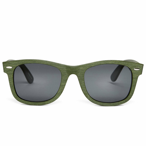 Picture of Tabulae Eyewear ZEUS GREEN with custom sunglass frame and lens