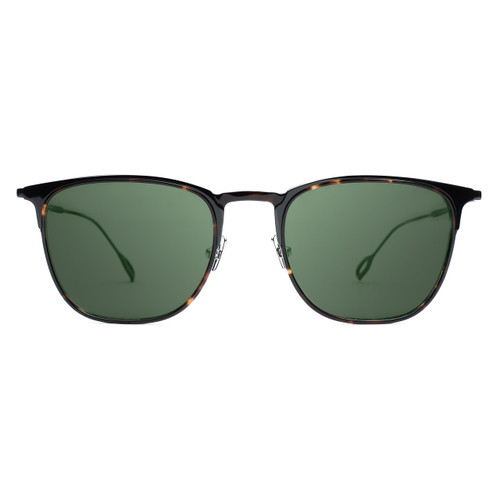Picture of Tabulae Eyewear Eros Titanium with custom sunglass frame and lens