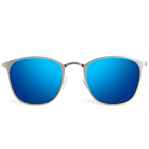 Picture of Tabulae Eyewear EROS Metal Ice Blue with custom sunglass frame and lens