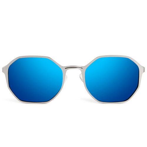 Picture of Tabulae Eyewear RA Ice Blue with custom sunglass frame and lens