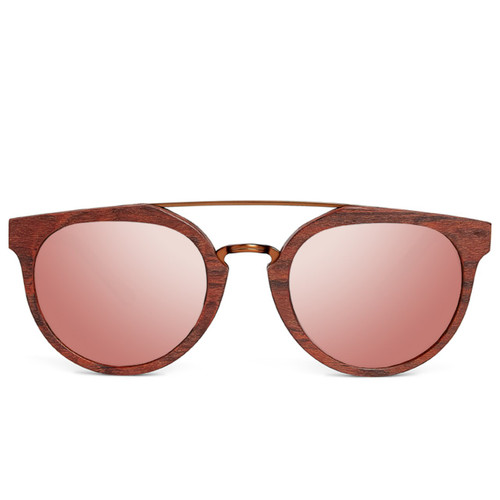 Picture of Tabulae Eyewear HERACLES Rose Gold with custom sunglass frame and lens
