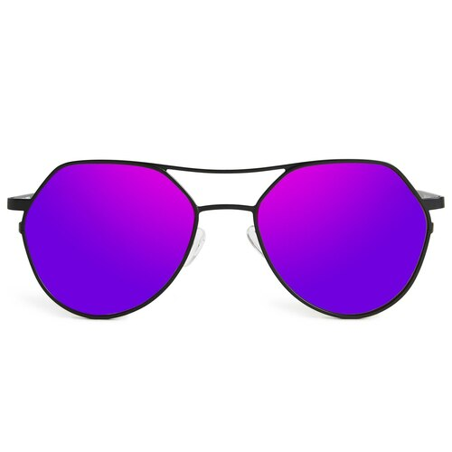 Picture of Tabulae Eyewear BENDIS Purple with custom sunglass frame and lens