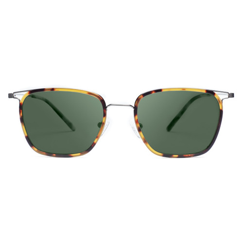 Picture of Tabulae Eyewear Square Bendable Titanium with custom sunglass frame and lens