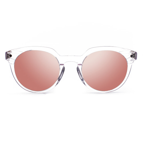 Picture of Tabulae Eyewear PUKA Rose Gold with custom sunglass frame and lens