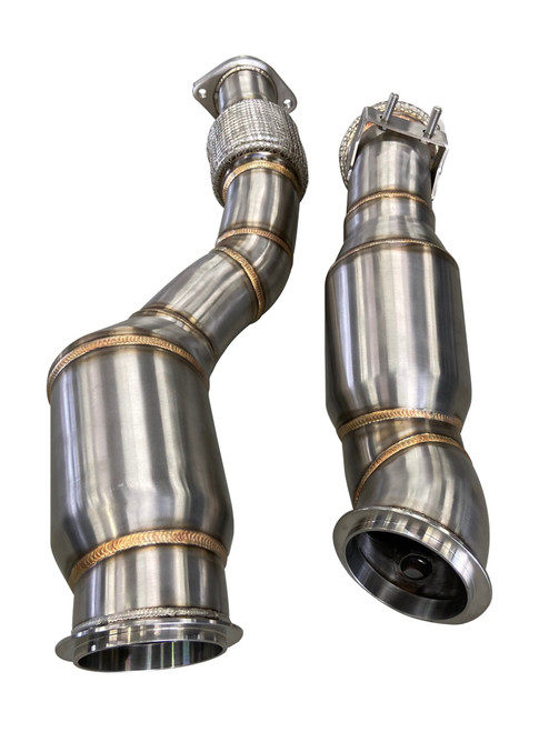 BMW Catless Downpipes - Active Autowerke 11-064