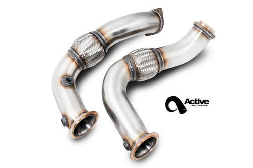BMW Catless Downpipes - Active Autowerke 11-034