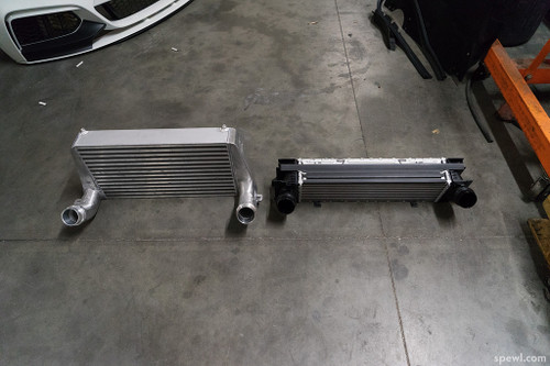 BMW Competition Series Front Mount Intercooler - Evolution Racewerks BM-FMIC007M