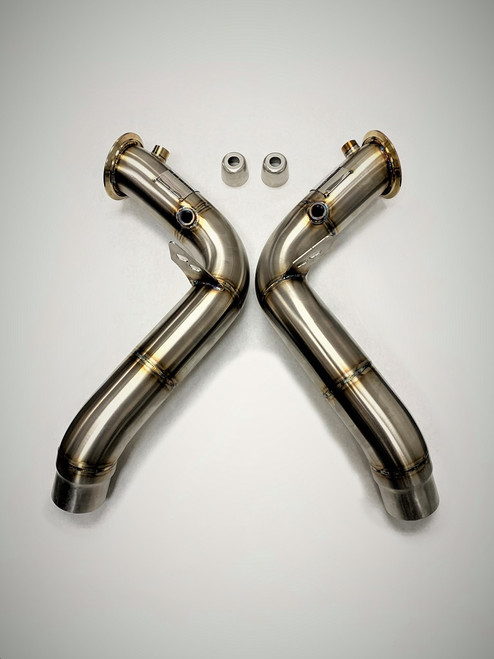 """BMW Competition Series 4"""" Catless Downpipe - Evolution Racewerks BM-EXH014"""