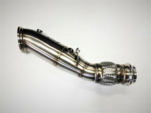 "BMW Competition Series 4"" Catless Downpipe - Evolution Racewerks BM-EXH019"