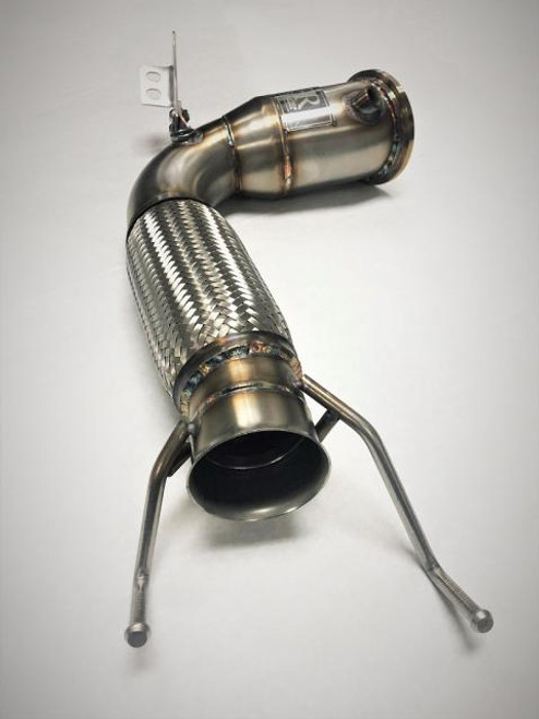 "BMW Competition Series 4"" Catless Downpipe - Evolution Racewerks BM-EXH021"