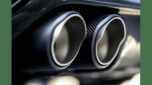 BMW Evolution Line Cat Back Exhaust with Carbon Fiber Tips - Akrapovic S-BM/T/23