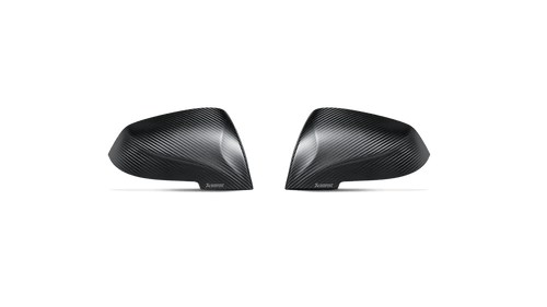 BMW Matte Carbon Fiber Mirror Cap Set - Akrapovic WM-BM/CA/1/M