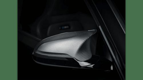 BMW Matte Carbon Fiber Mirror Cap Set - Akrapovic WM-BM/CA/2/M