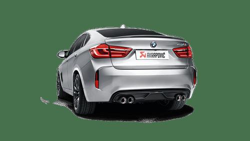 BMW Matte Carbon Fiber Rear Diffuser - Akrapovic DI-BM/CA/2