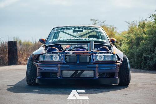 BMW E36 Front Lip - STREETFIGHTER LA SFXLA-E36-2DR-FRONTLIP