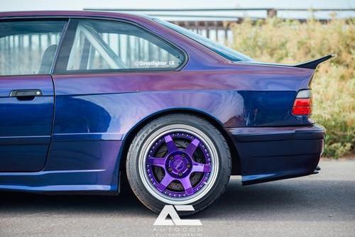 BMW E36 Rear Spoiler - STREETFIGHTER LA SFXLA-E36-2DR-SPOILER