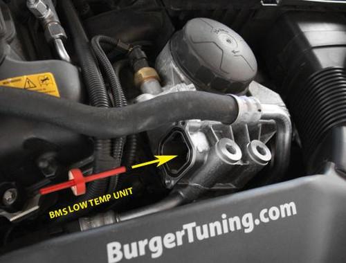 BMW Sport Oil Cooler Valve - Burger Motorsports BMS-N54-OCV