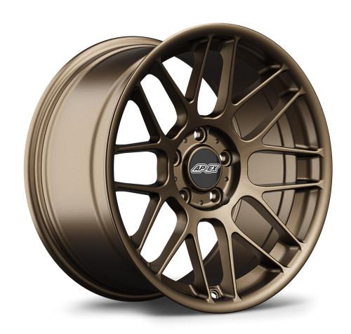 """BMW 17x10"""" ET25 APEX ARC-8 Wheel - Matte Bronze"""