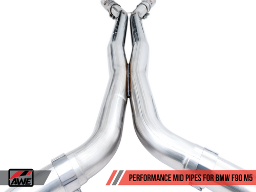 BMW Performance Mid Pipes - AWE Tuning 3020-11024