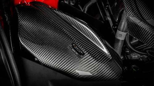 Toyota Supra Carbon Intake System - Eventuri EVE-A90-CF-INT