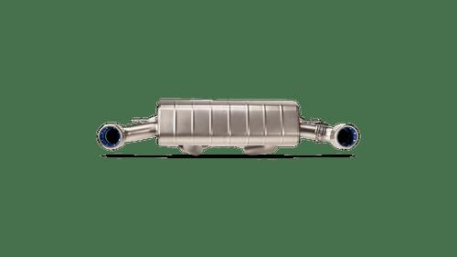 A90 Supra Slip On Titanium Exhaust - Akrapovic AKRS-TY/T/1H