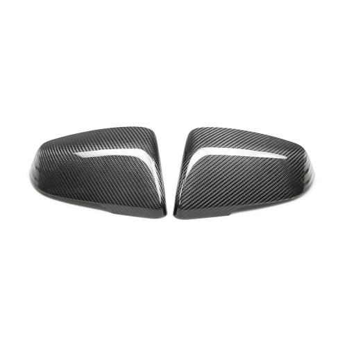 A90 Supra Carbon Fiber Mirror Caps - Seibon Carbon MC20TYSUP