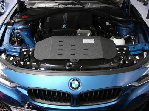 BMW Polished SP Short Ram Cold Air Intake System - Injen SP1122P